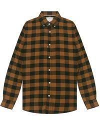 SELECTED Camicia A Maniche Lunghe - Oranje