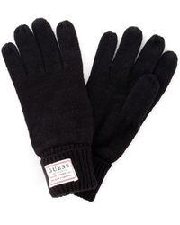 Guess Am8586wol02 Gloves Men Black - Zwart