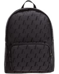 Emporio Armani Men's Rucksack Backpack Travel - Grijs
