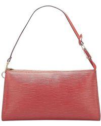 Louis Vuitton Epi Pochette Accessoires Leather - Rouge