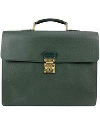 Louis Vuitton Mallette Robusto à 2 compartiments - Vert
