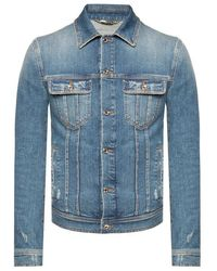 Dolce & Gabbana Denim Jacket - Blauw