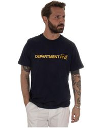 Department 5 - T-shirt Gars - Lyst