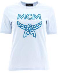 MCM Short Sleeve T-shirt - Blauw