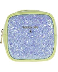 Patrizia Pepe Women's Clutch Handbag Bag Purse - Blauw