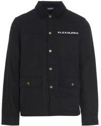Pleasures Coat - Zwart