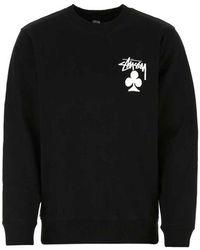 Stussy Sweatshirt - Zwart