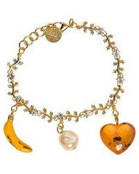 Marni Bracelet With Pendant Details - Geel