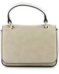Armani Exchange Minibag con tracolla - Neutre