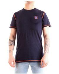 Sun 68 T-shirt - Bleu