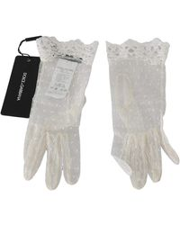 Dolce & Gabbana Handschoenen - Wit