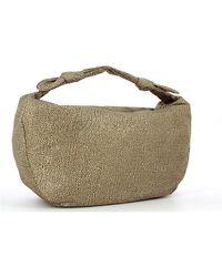 Borbonese Hobo Bag Large Desert Beige - Neutro