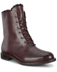 Ecco Sartorelle 25 Bison Boots - Marrone