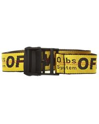 Off-White c/o Virgil Abloh Belt - Geel