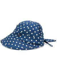 Maison Michel Hat Azul