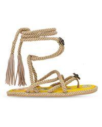Etro Woven Sandals - Naturel
