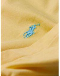 Polo Ralph Lauren - Logo bordado camiseta Amarillo - Lyst