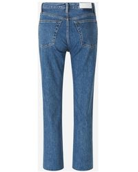 RE/DONE Jeans 70s Stove Pipe Azul