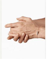 Le Gramme Cable Bracelet 7 Grammes - Gris