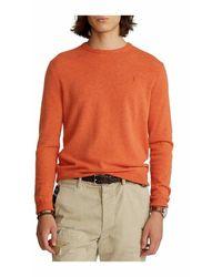 Polo Ralph Lauren Long Sleeve Sweater - Oranje