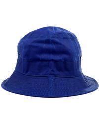 Universal Works Hat - Blu