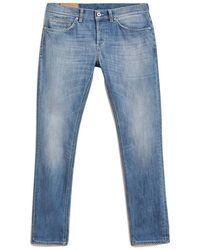 Dondup Men's Skinny Denim Jeans - Blauw