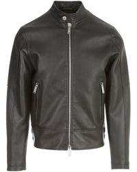 DSquared² Classic biker jacket - Noir