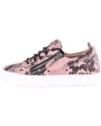 Giuseppe Zanotti Rw70001 low top sneakers - Pink