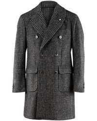 Lubiam Coat 95250 7452 - Gris
