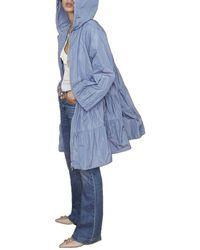 iBlues Ariel Rain Coat Azul