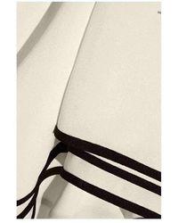 Chloé Krepp-Minikleid - Weiß