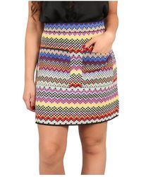 Missoni Skirt - Blauw