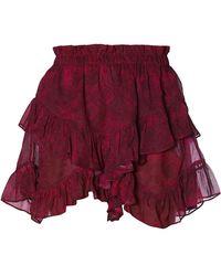 Dondup Skirt - Rojo