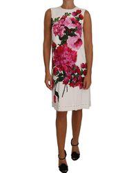 Dolce & Gabbana A-line Shift Gown Dress - Roze
