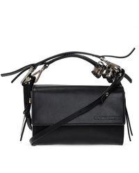 DSquared² Shoulder Bag With Logo - Zwart
