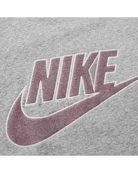 Nike Tripulación FT GX sudadera Gris