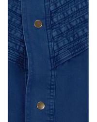 Lois 6412 Camisa Ring vintage Row 2689 Azul