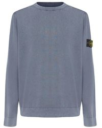 Stone Island Sweatshirt - Blauw
