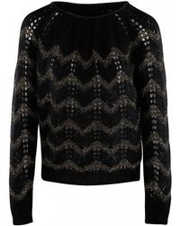 Forte Forte Sweater - Zwart