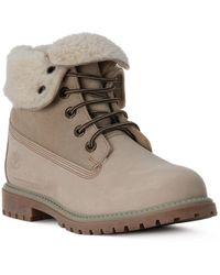 Lumberjack Ca003 Ankle Boots Beige - Neutro
