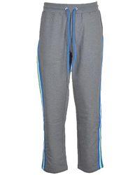 Bikkembergs Men's gray pants - Gris