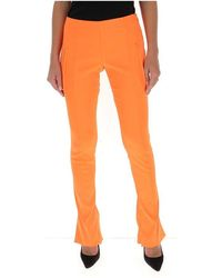 Off-White c/o Virgil Abloh Skinny-fit Flared Trousers - Oranje