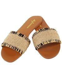 4giveness Sandals Fgaw0924-200--36 - Neutre