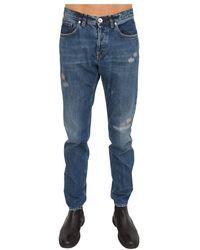 Eleventy Pantalone - Azul
