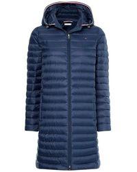 Tommy Hilfiger Essential Light Weight Down Coat - Blauw