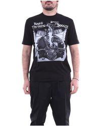Moncler 8c705108392b Short Sleeve - Zwart