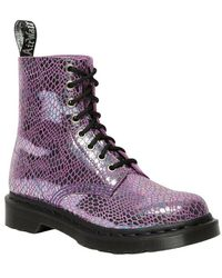 Dr. Martens Flat Shoes - Paars