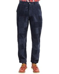 Universal Works Trousers - Blauw