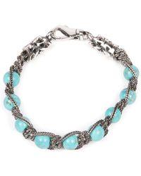 Emanuele Bicocchi Beads Bracelet - Grijs