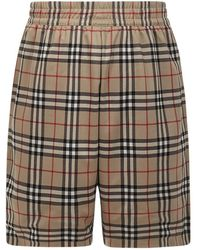 Burberry Shorts Beige - Neutro
